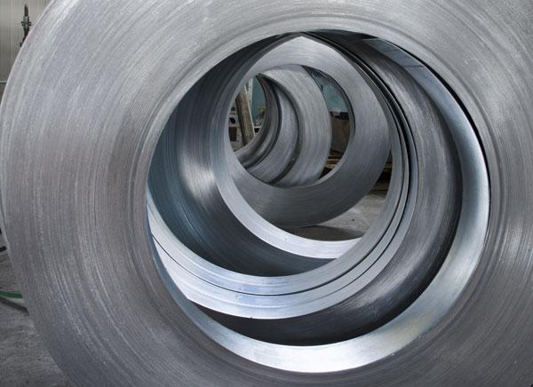 Energitech - À propos - Rouleau de métal